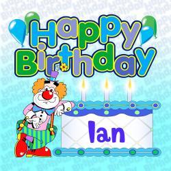 Cover image for Happy Birthday Ian