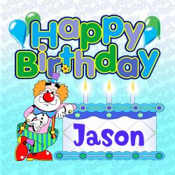 Cover image for Happy Birthday Jason