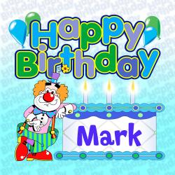 Cover image for Happy Birthday Mark