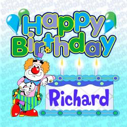 Cover image for Happy Birthday Richard