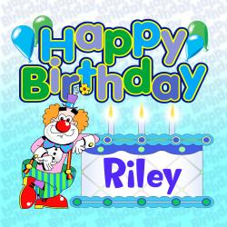 Cover image for Happy Birthday Riley