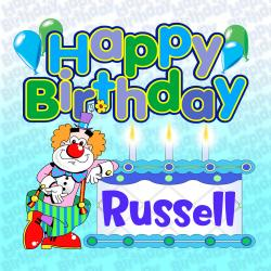 Cover image for Happy Birthday Russell