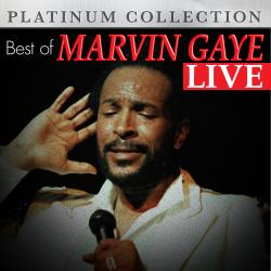Cover image for Best of Marvin Gaye Live