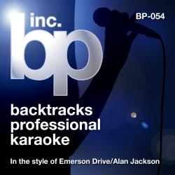 Cover image for Songs In the Style of Emerson Drive and Alan Jackson (Karaoke Version) - EP