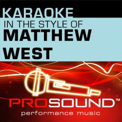 Cover image for Karaoke - In the Style of Matthew West - EP (Professional Performance Tracks)