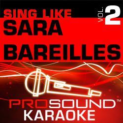 Cover image for Sing Like Sara Bareilles, Vol. 2