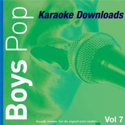 Cover image for Karaoke Downloads - Boys Pop Vol.7