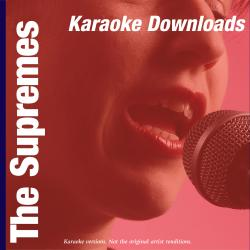 Cover image for Karaoke Downloads - The Supremes