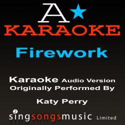 Cover image for Firework (Originally Performed By Katy Perry) {Karaoke Audio Version}