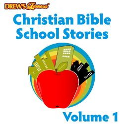 Cover image for Christian Bible School Stories Vol. 1
