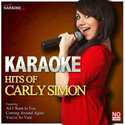 Cover image for Karaoke - Hits of Carly Simon