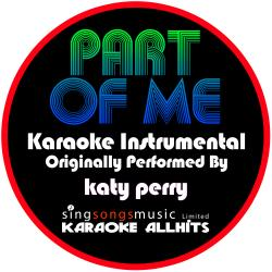Cover image for Part of Me (Originally Performed By Katy Perry) [Instrumental Version]