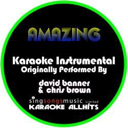 Cover image for Amazing (Originally Performed By David Banner & Chris Brown) [Instrumental Version]