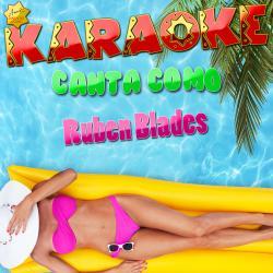 Cover image for Karaoke Canta Como Ruben Blades
