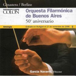 Cover image for Orquesta Filarmónica de Buenos Aires - 50º Aniversario
