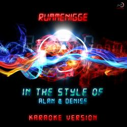 Cover image for Rummenigge (In the Style of Alan & Denise) [Karaoke Version] - Single