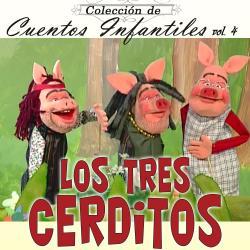 Cover image for Cuentos Infantiles: Los Tres Cerditos