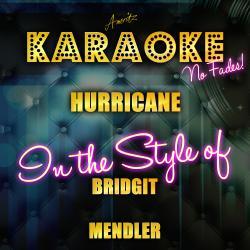 Cover image for Hurricane (In the Style of Bridgit Mendler) [Karaoke Version] - Single