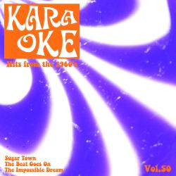 Cover image for Karaoke - Hits from the 1960's, Vol. 50