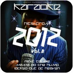 Cover image for Karaoke - Hits from 2012, Vol. 8