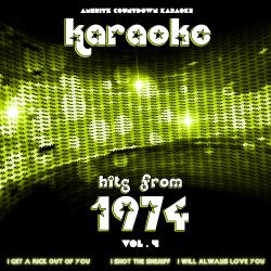 Cover image for Karaoke Hits from 1974, Vol. 4
