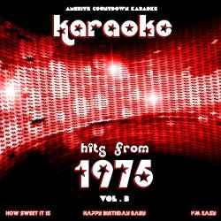 Cover image for Karaoke Hits from 1975, Vol. 3