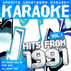 Cover image for Karaoke Hits from 1991