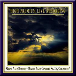 Cover image for MOZART: Piano Concerto No. 26 in D Major, K. 537 'Coronation' - Grand Piano Masters - Klavierkonzert Nr. 26 D-Dur KV 537 'Krönungskonzert'