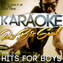 Cover image for Karaoke - Rnb & Soul Hits for Boys, Vol. 2