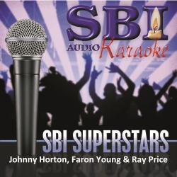 Cover image for Sbi Karaoke Superstars - Johnny Horton, Faron Young & Ray Price
