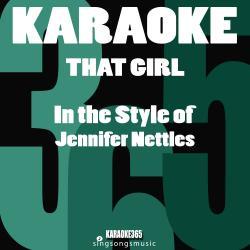 Cover image for That Girl (In the Style of Jennifer Nettles) [Karaoke Version] - Single