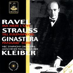 Cover image for Ravel: Ma Mère L'oye; Strauss: Till Eulenspiegel; Ginastera: Panambì Suite