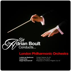 Cover image for Sir Adrian Boult Conducts... London Philharmonic Orchestra