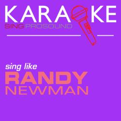 Cover image for Karaoke in the Style of Randy Newman