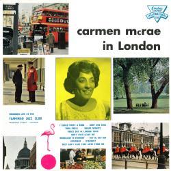 Cover image for Carmen McRae in London