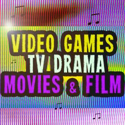 Cover image for Video Games TV Drama Movies & Film