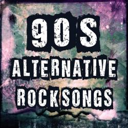 Cover image for 90's Alternative Rock Songs: Best Alternative Music & Top HIts of the 1990's Rockstar & Bands