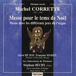 Cover image for Michel Corrette: Messe pour le tems de Noël
