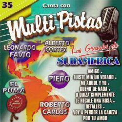 Cover image for Canta Con Multi Pistas los Grandes de Sudamerica Roberto Carlos / Alberto Cortez / Leonardo Favio / El Puma / Piero