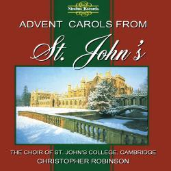 Cover image for Advent Carols from St. John's