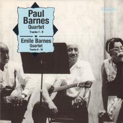 Cover image for Paul Barnes Quartet 1969 / Emile Barnes Quartet 1961